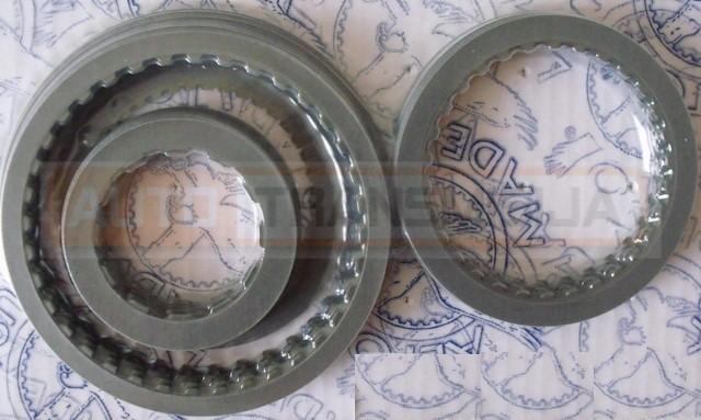 Frikcinių diskų rinkinys 4L30E