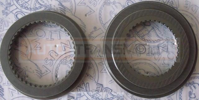 Frikcinių diskų rinkinys 4L65E