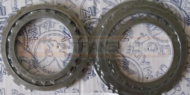 Metalinių diskų rinkinys AW81-40LE / U440 / U441